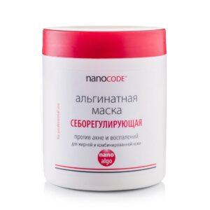 Альгинатная маска для лица СЕБОРЕГУЛИРУЮЩАЯ NANOCODE