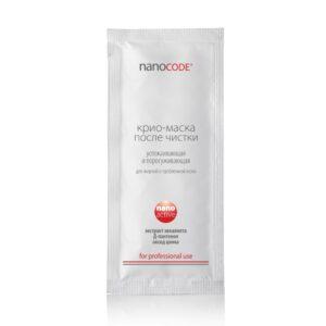 КРИО-МАСКА для лица после чистки NANOCODE