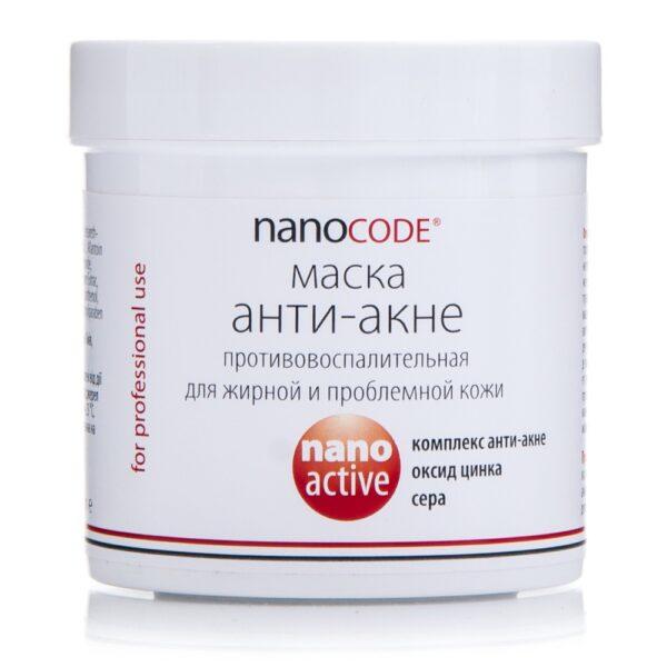 Маска для обличчя АНТИ АКНЕ NANOCODE