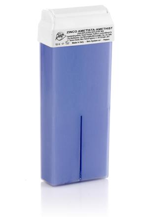 Воск для депиляции Аметист с оксидом цинка 100 мл Trendy