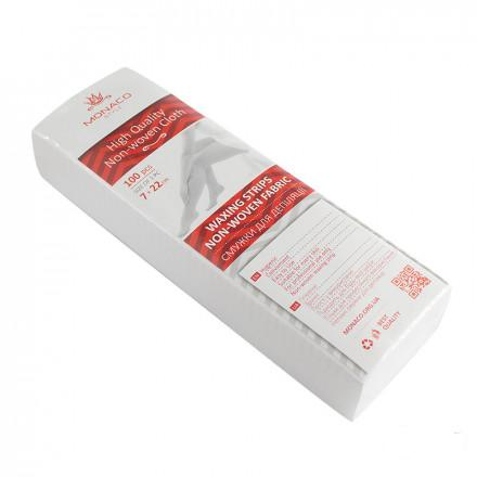 Бумага для депиляции MONACO Style 7х22 см 100 шт
